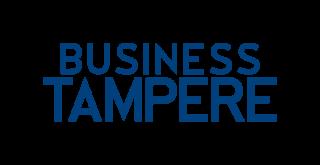 Business Tampereen logo ja linkki verkkosivuille