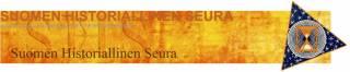 Suomen Historiallisen Seuran logo ja linkki verkkosivuille