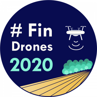 #FinDrones2020 logo