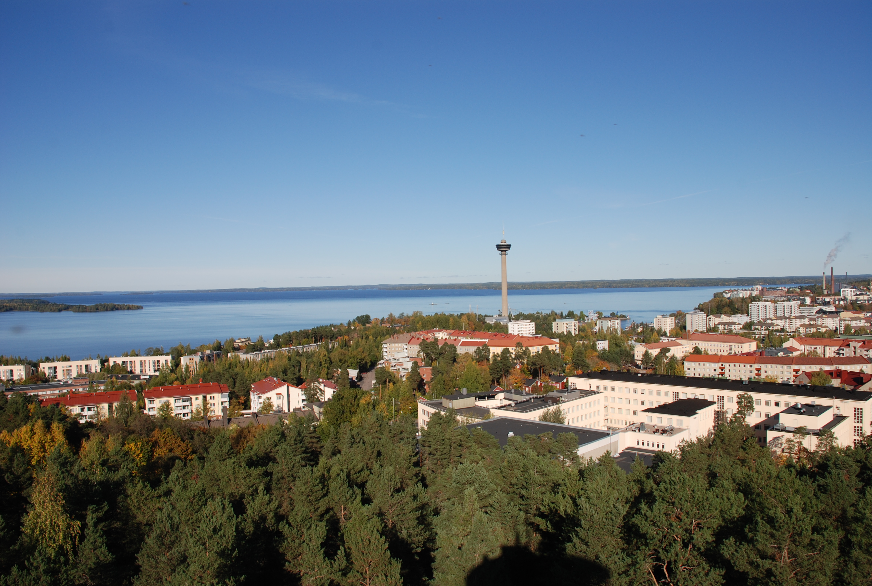Maisemakuva Tampereesta