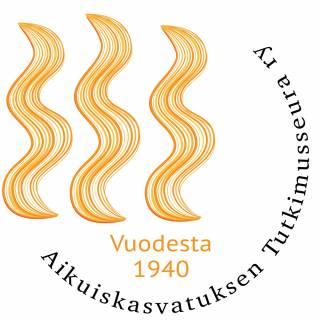 Aikuiskasvatuksen tutkimusseuran logo ja linkki verkkosivuille