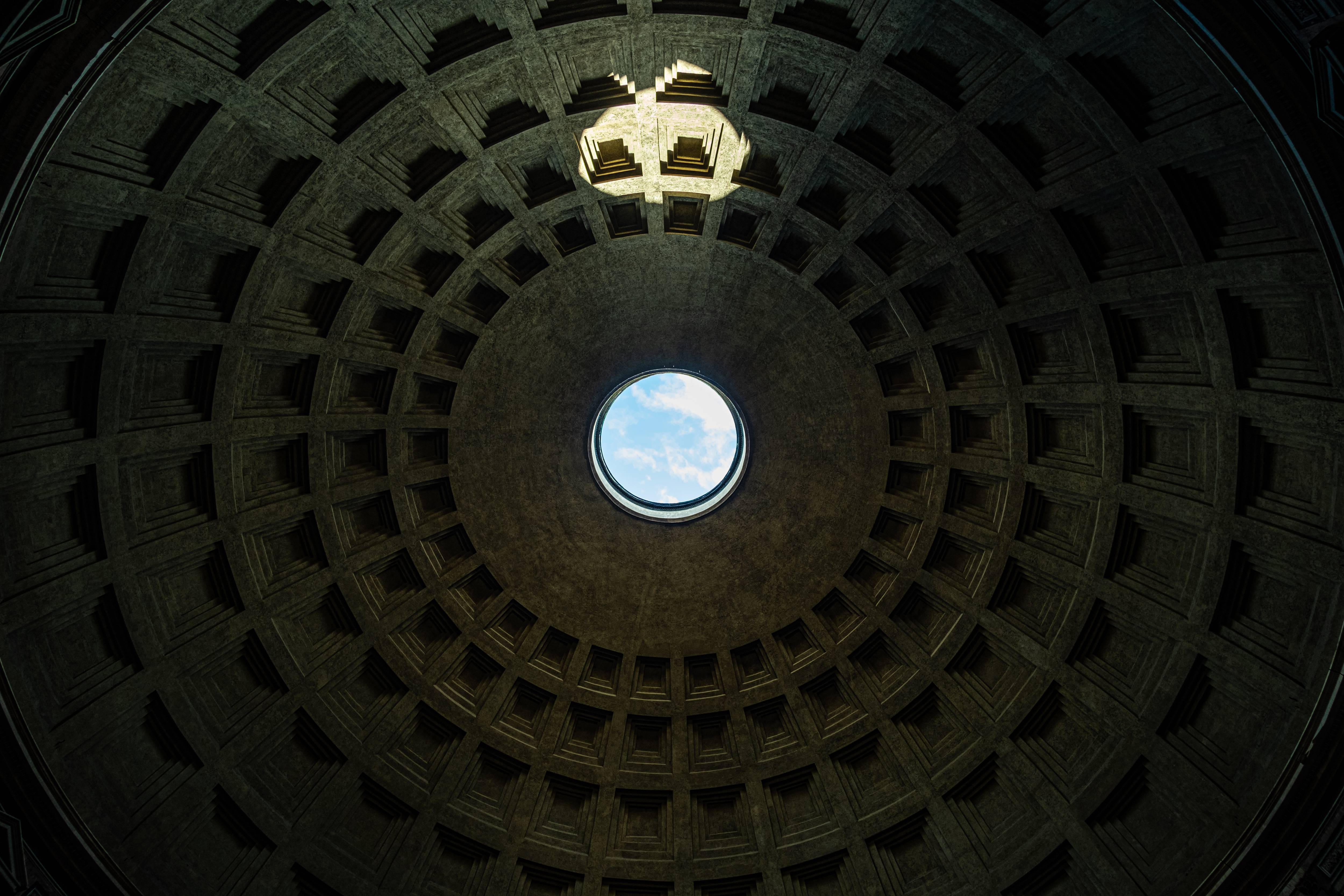 The roof of Pantheon
