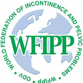 Logo for teh World Federation for Incontinence and Pelvic Floor Pain